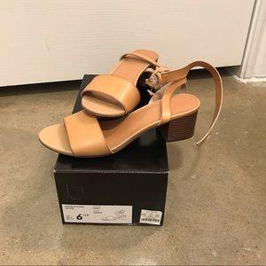 J crew new block heel sandal